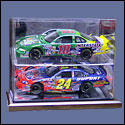 2 Car 1:24 Scale Display Case