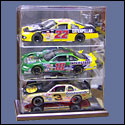 3 Car 1:24 Scale Display Case