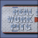 Real Men License plate - Diamond