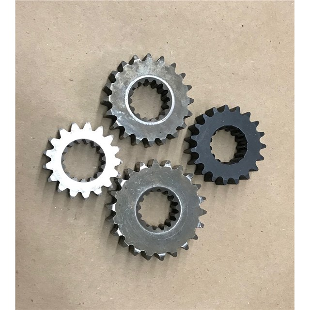 Good used gears, 13 wide, 1 inch 15 spline shaft