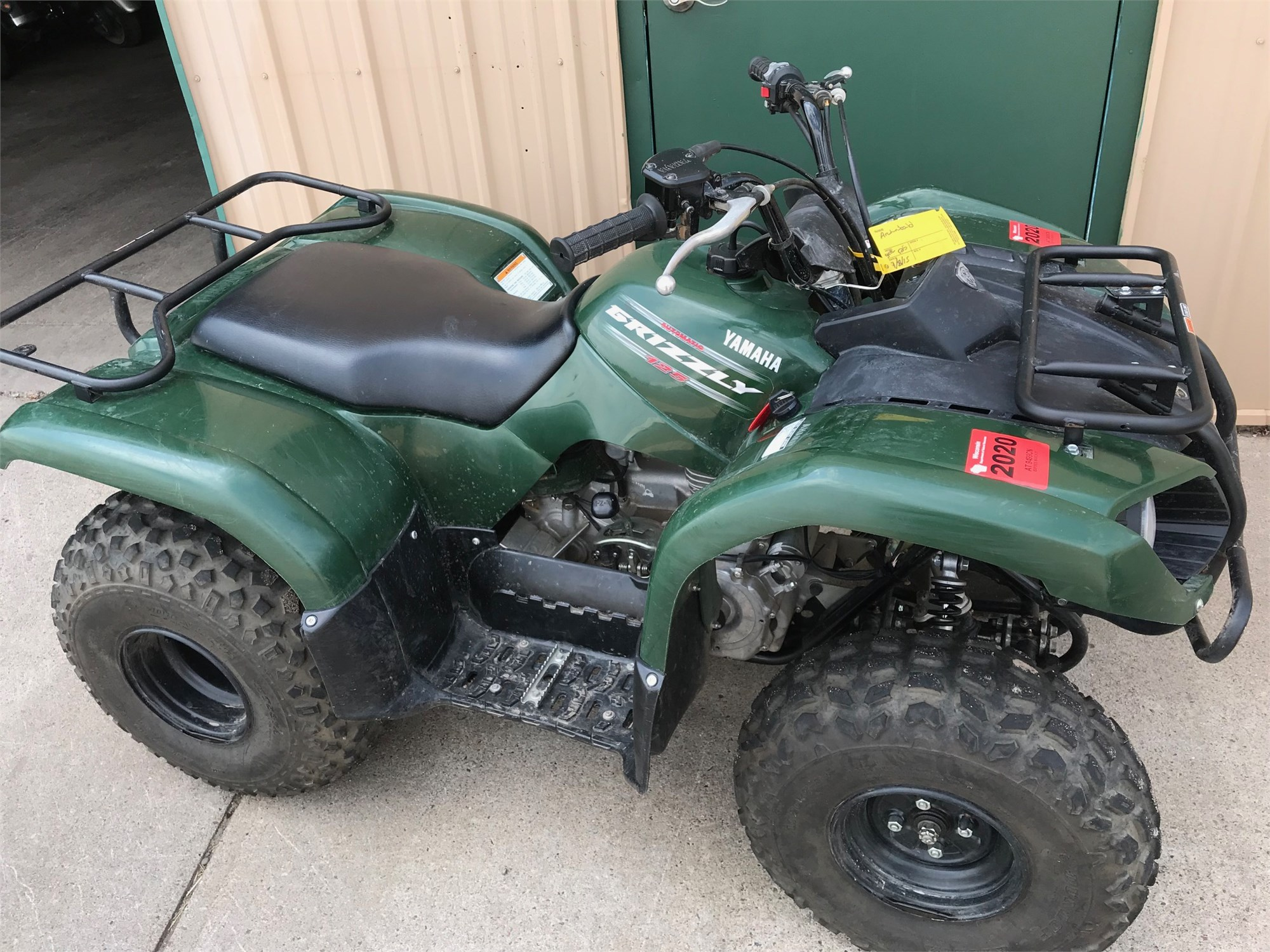 2010 Yamaha Grizzly 125