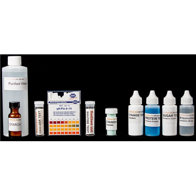REFILL FOR HAZCLASS® 1 HAZMAT TEST KIT