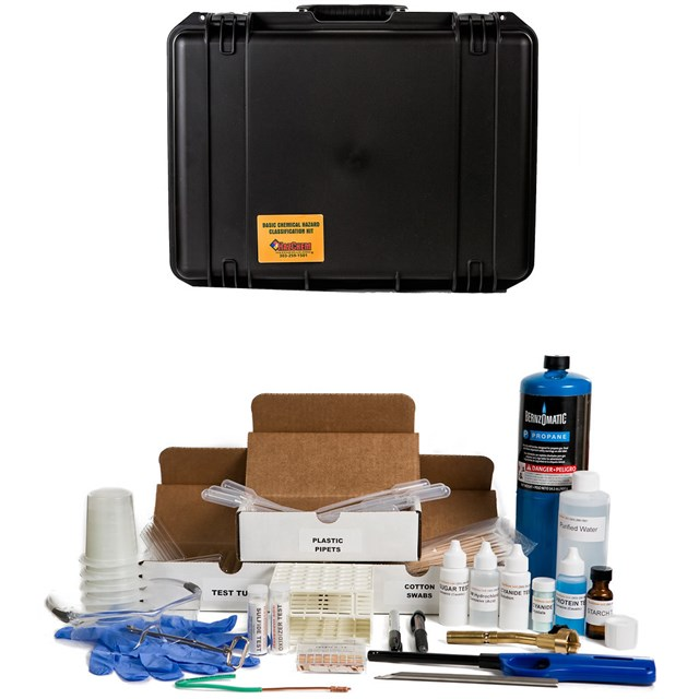 HAZCLASS® 3 WMD HAZARDOUS MATERIALS TEST KIT