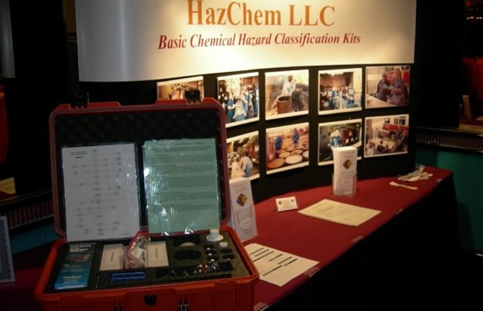 HazChem HazMat Test Kit Display