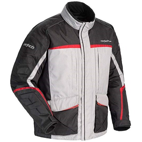 Gray/Black/Red Cortech Cascade 2.1 Jacket