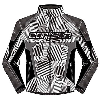 White/Black Cortech Blitz 3.0 Jacket
