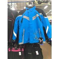 Womens SnoForce Blue Destiny Jacket with Outlast