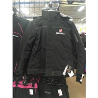 Women's Yamaha Gray SF X-Country Snowmobile Winter Jacket