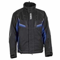 Blue Yamaha Mens Adventure Snowmobile Winter Jacket