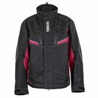 Red Yamaha Mens Adventure Snowmobile Winter Jacket