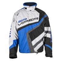 Blue Mens Yamaha Sr Viper Snowmobile Jacket by FXR