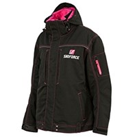 Pink Yamaha Ladies SF X-Country Winter Snowmobile Jacket