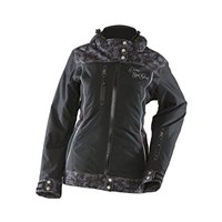 Black Yamaha Divas Lace Snowmobile Jacket