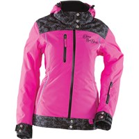 Pink Yamaha Divas Lace Snowmobile Jacket