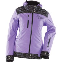 Purple Yamaha Divas Lace Snowmobile Jacket
