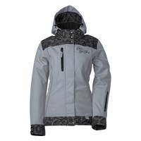 Gray Ladies Yamaha Lace Collection Jacket by Divas SnowGear