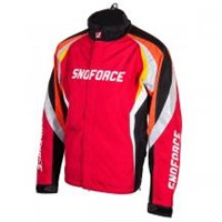 Red Mens Yamaha Snoforce Insulated Velocity Snow Jacket with Outlast