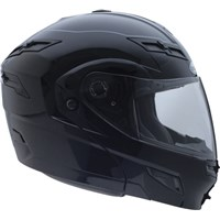 GMax Black GM54S Modular Snowmobile Helmet with Dual Lens Shield