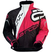 Pink Arctiva Ladies S6 Comp Snowmobile Jacket
