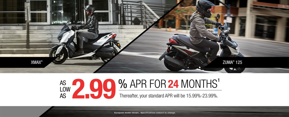 Yamaha Scooter Sale