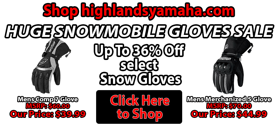 Yamaha Gloves Sale