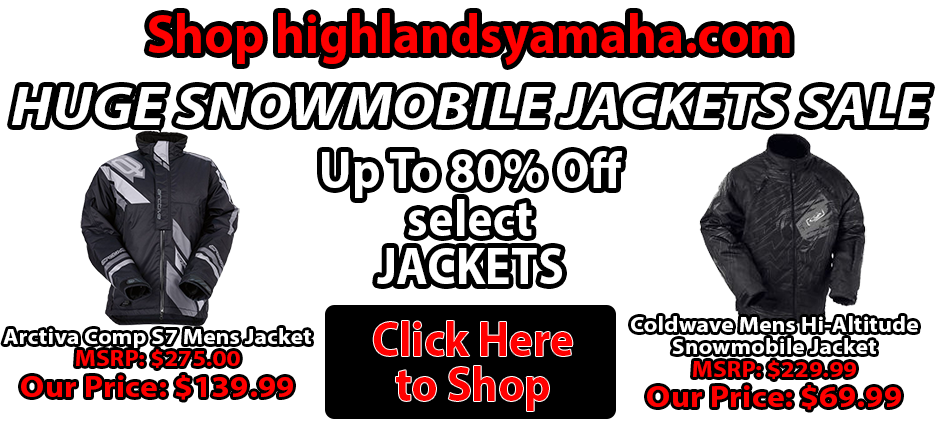 Yamaha Jacket Sale