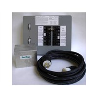 30 Amp, 10-circuit, Indoor w/25' Cord And Box Transfer Kit