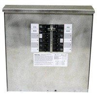 30 Amp, 10-circuit, Outdoor Transfer Switch