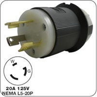 Honda 3-prong locking plug (male) D