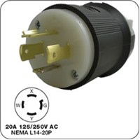 Honda 4-prong locking plug (male) F