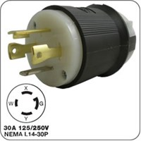 Honda 4-prong locking plug (male) G