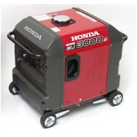 Honda EU3000is 4-wheel kit w/out locking feature