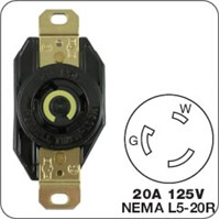 Honda Locking plug for generator receptacle D