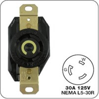 Locking Plug (male) For Generator Receptacles E