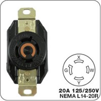 Honda Locking plug for generator receptacle F