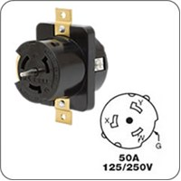 Honda Locking plug for generator receptacle H