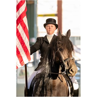 Friesian Horse club of Southern California Flag Ceremony 2019