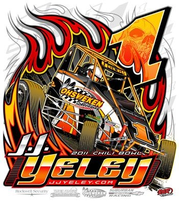JJ's 2011 Chili Bowl T shirt back