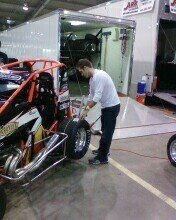 JJ working on his car