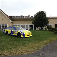#36 TBR Sprint Cup Car on Display at the Bay Health Golf Tournament