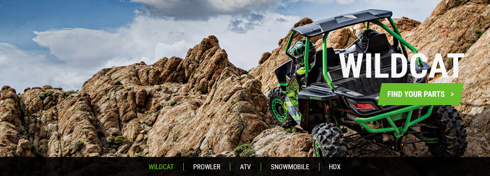 Arctic Cat Wildcat Parts
