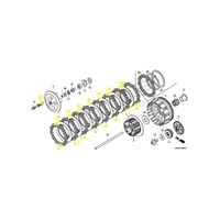 OEM Honda Clutch Kit for 2012 and 2013 CRF250R