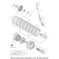 Yamaha Clutch Kit for 2009 to 2011 YZF-R1