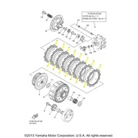 Yamaha Clutch Kit for 2006 to 2011 YZ125