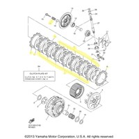 Yamaha Clutch Kit for 2006 to 2011 YZF R-6 and 2009 YZFR6S