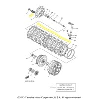Yamaha Clutch Kit for 2008 YZ250F