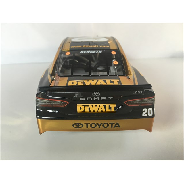 2017 Autographed DEWALT 1:24 COLOR CHROME DIE-CAST