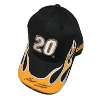 Autographed Flame Hat