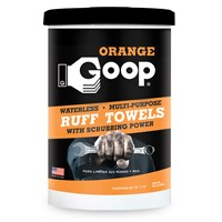 Orange Goop Multi-Purpose Hand Cleaner Ruff Towels & Wipes
