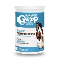 Galloping Goop Equine Rinse-Free Shampoo Wipes